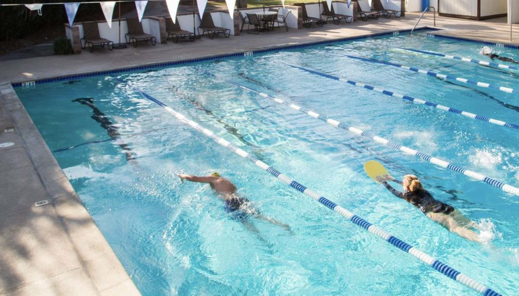 Swimmers at Westlake Athletic Club